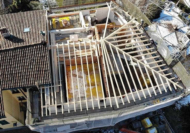 Rifacimento tetto Figino